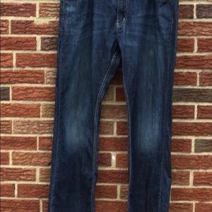 Levi's 527 slim boot cut jeans